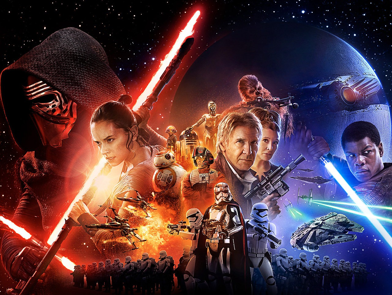 STAR WARS:THE FORCE AWAKENS