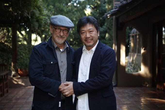 スピルバーグ&是枝裕和監督